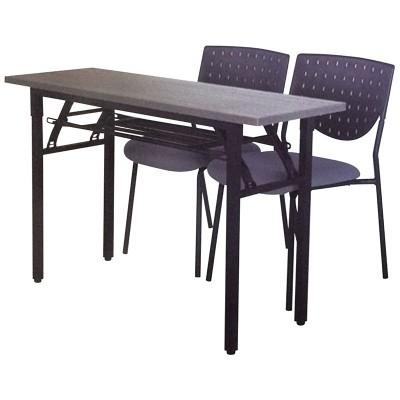 簡約時尚現代雙人辦公培訓長條桌可拼接多功能會議洽談培訓桌YJ-F035
