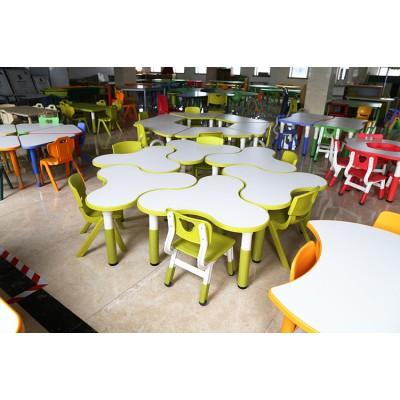 三葉桌梅花形遊戲桌