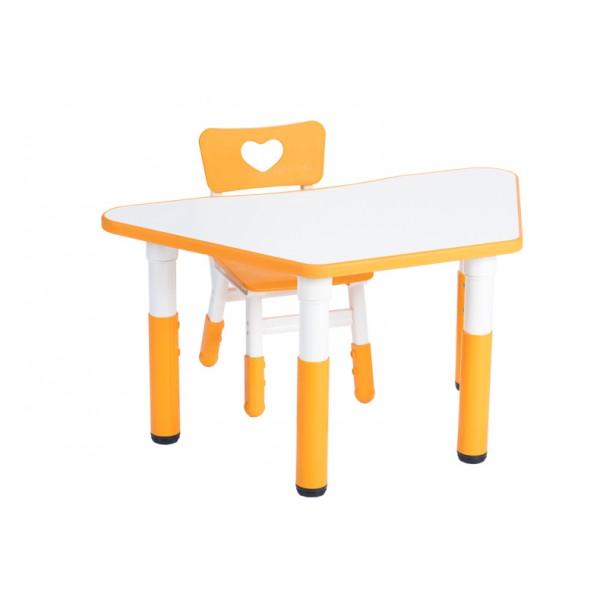 可拼式梯形桌