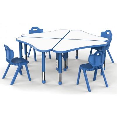 箭頭桌可拼式