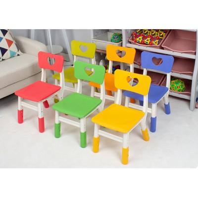 愛心兒童塑料椅