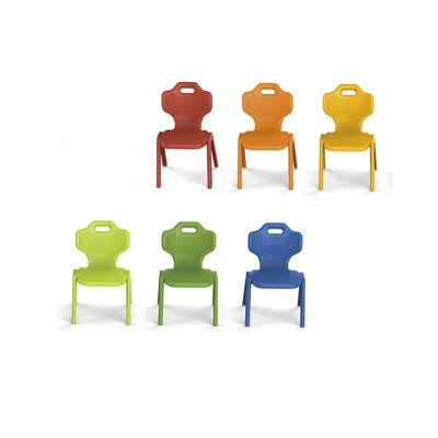 兒童椅子靠背凳幼稚園培訓塑料椅
