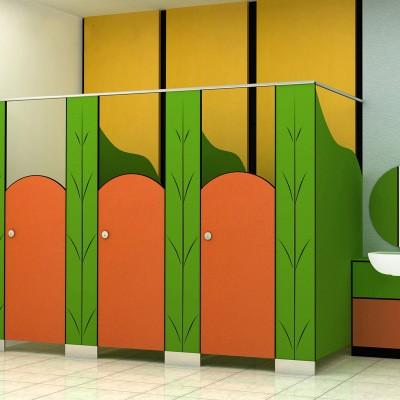 幼稚園洗手間隔斷