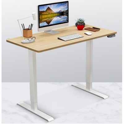 電動升降桌站立辦公書桌電腦台式桌升降書桌移動桌