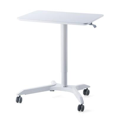 氣桿式升降移動邊桌