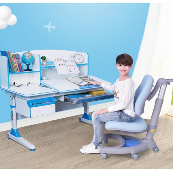 兒童學習桌椅套裝小學生可升降書桌