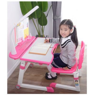 套裝簡約家用兒童學習桌子可升降小學生書桌寫字桌椅