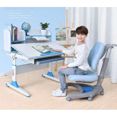 兒童學習桌椅套裝小學生電腦書桌可升降寫字桌家用現代簡約