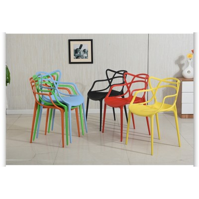 現代簡約塑料椅子休閒接待椅家用洽談椅組合靠背椅學生辦公椅