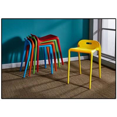 簡約塑料凳子結實耐用塑膠馬凳