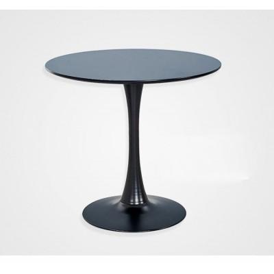 伊姆斯塑料桌子創意圓桌休閒桌簡約洽談桌