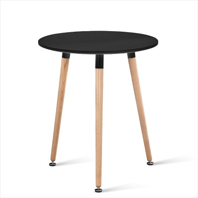 實木小圓桌接待洽談高密度板伊姆斯桌子