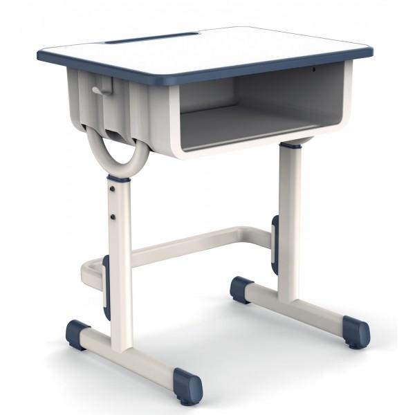 可拆裝固定腳單人寫字塑料桌椅