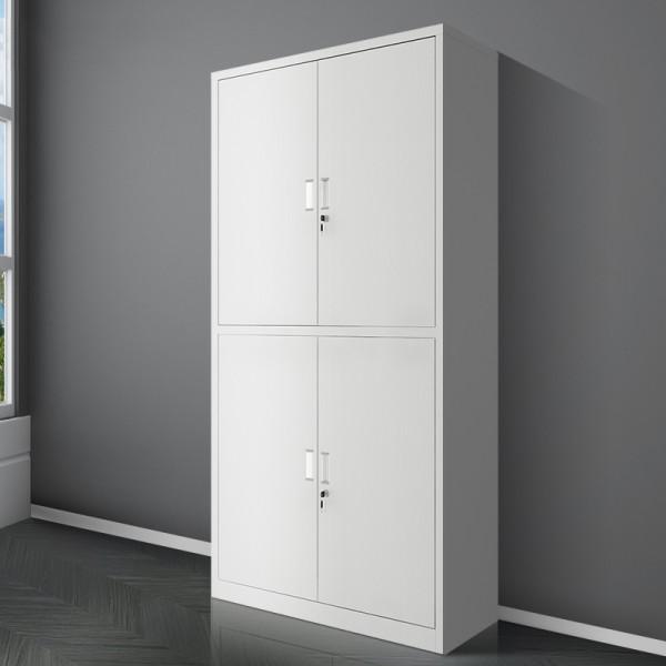 通體雙節文件櫃對開門資料櫃帶鎖財務檔案櫃