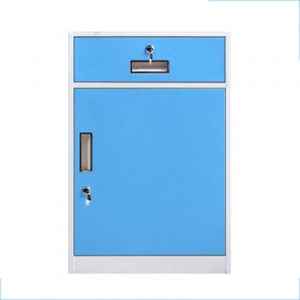 辦公桌下文件櫃帶鎖抽屜小櫃子家用收納儲物櫃