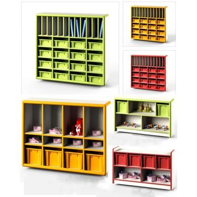 塑料櫃/教具櫃/圖書櫃