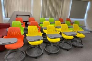 安裝培訓椅