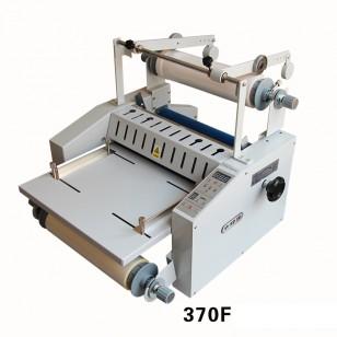 370皮帶防捲曲收紙修邊腹膜機